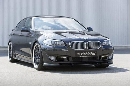 2011 BMW 5 Series with Hamann body kit hamann bmw 5 2
