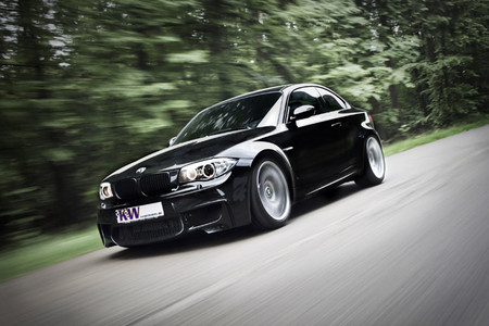 BMW 1M Coupe by KW KW BMW 1 series M Coupe