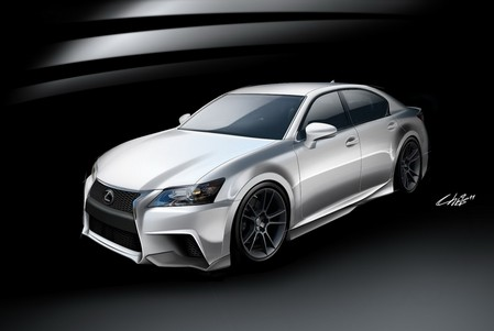 Lexus GS F SPORT by Five Axis Five Axis Lexus GS F SPORT 1