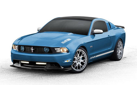 Ford Mustang by H&R Springs mustang sema 2