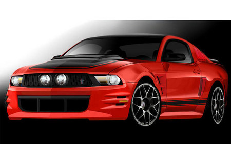 Ford Mustang by Creations n Chrome mustang sema 3