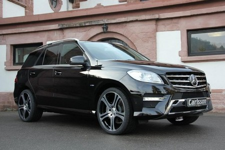 Carlsson 2012 Mercedes ML carlsson ml 1