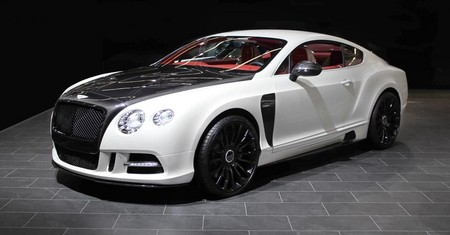 New Bentley Continental GT Mansory mansory new Bentley Continental GT 1