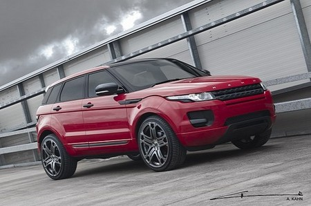 Kahn Design Red Evoque Kahn Design Range Rover Evoque Red 1