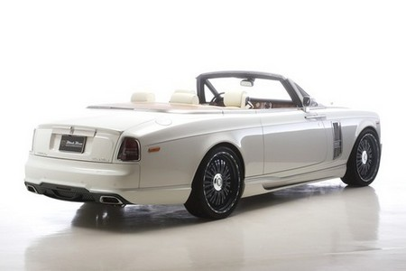 Rolls Royce Phantom Drophead by Wald  Rolls Royce Phantom Drophead Black Bison WALD 3