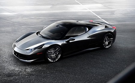 Ferrari 458 with PUR 5IVE Wheels Ferrari 458 Italia PUR 5IVE Wheels