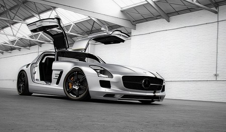 Mercedes SLS Silver Wing by Wheelsandmore Wheelsandmore Mercedes SLS Silver Wing 2