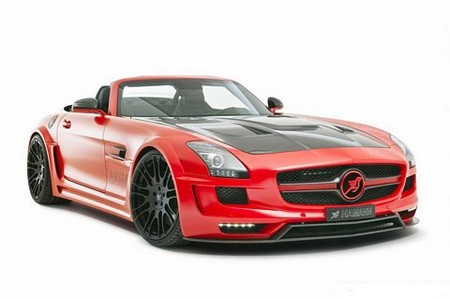 Mercedes SLS Roadster by Hamann  hamann hawk sls 21